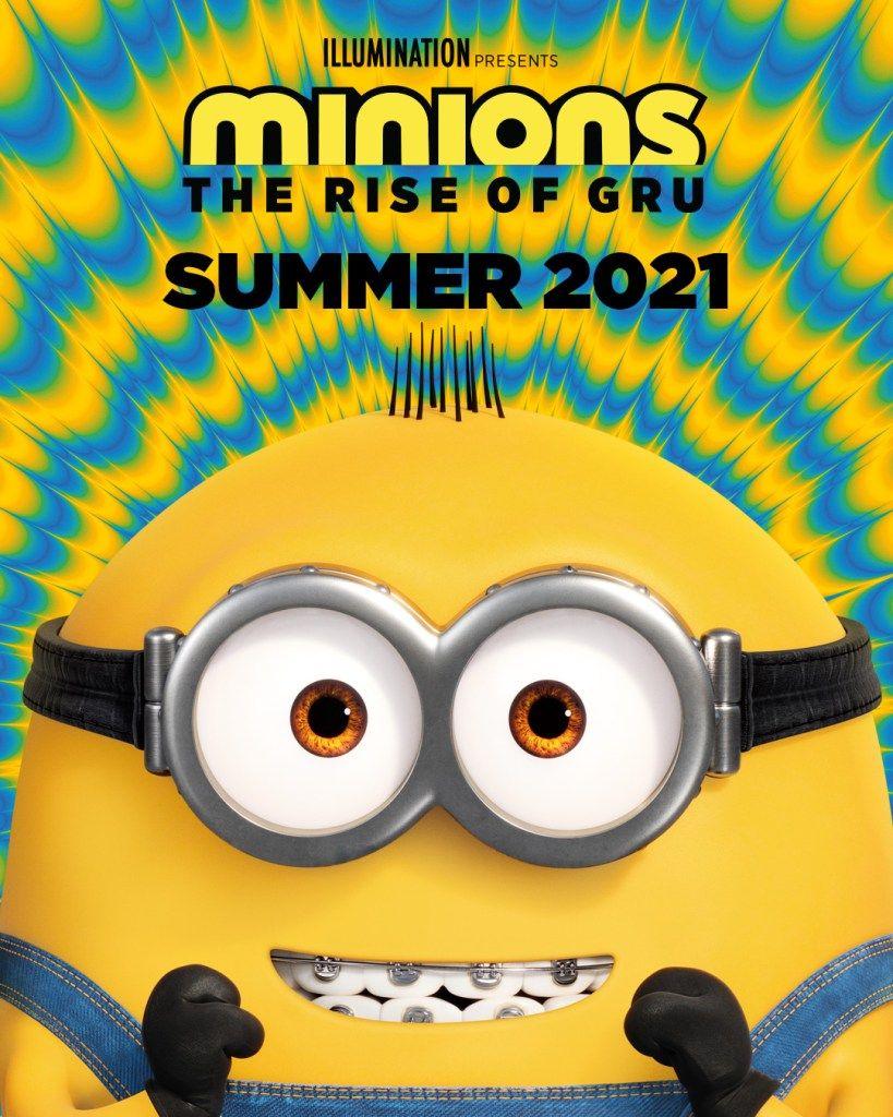 Minions 2 A Origem De Gru Ganha Poster Com Nova Data De Lancamento Minion Minions Filmes