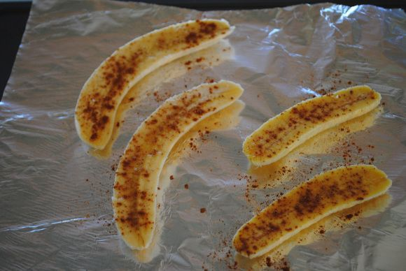 bananas baking
