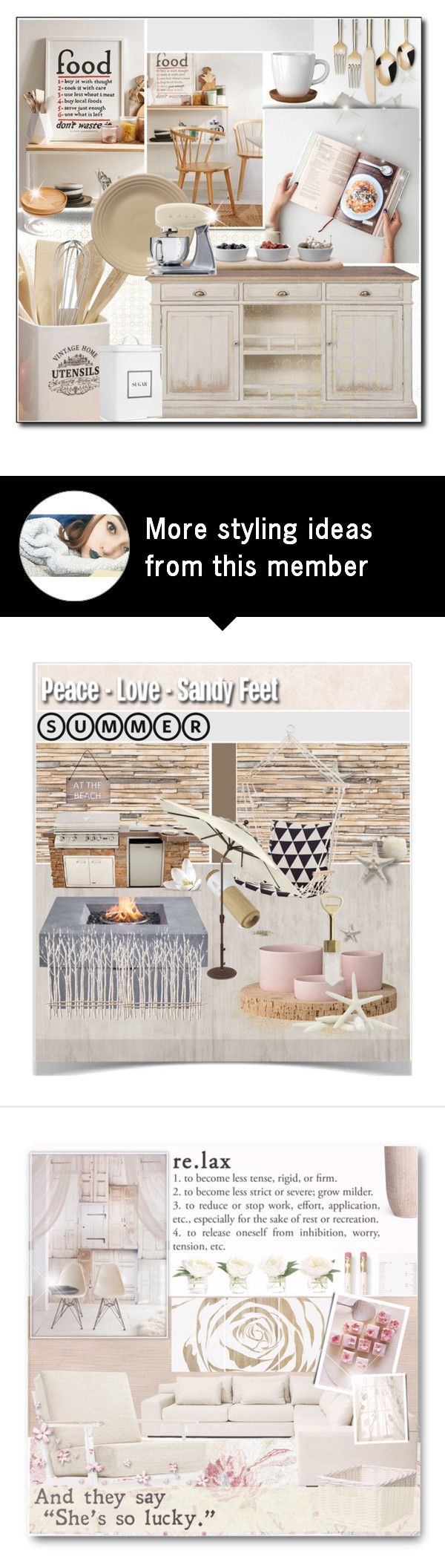 Threshold home decor shop for threshold home decor on polyvore - Interior Decorating Foodspired By Jessinerio4l On Polyvore Featuring Interior Interiors Interior Design Home