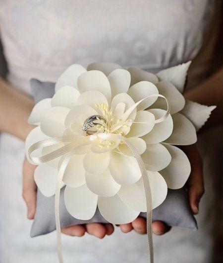 Cuscino Portafedi Nozze D Argento.Cuscino Porta Fedi Wedding Inspiration Nel 2019 Anello Sposo