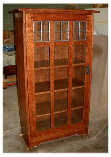 Arts Crafts Mission Style Bookcases Craftsman Bookcase