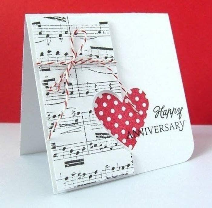 Love music anniversary card anniversary Pinterest - print anniversary card