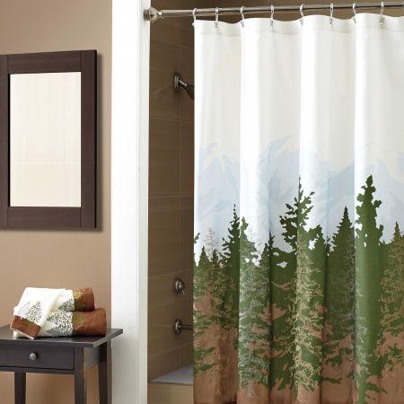 Croscill Wilderness Shower Curtain Shower Curtains Shower Curtain Curtains Designer Shower Curtains