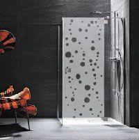stickers occultant paroi de douche brise vue pinterest paroi de douche paroi et stickers. Black Bedroom Furniture Sets. Home Design Ideas