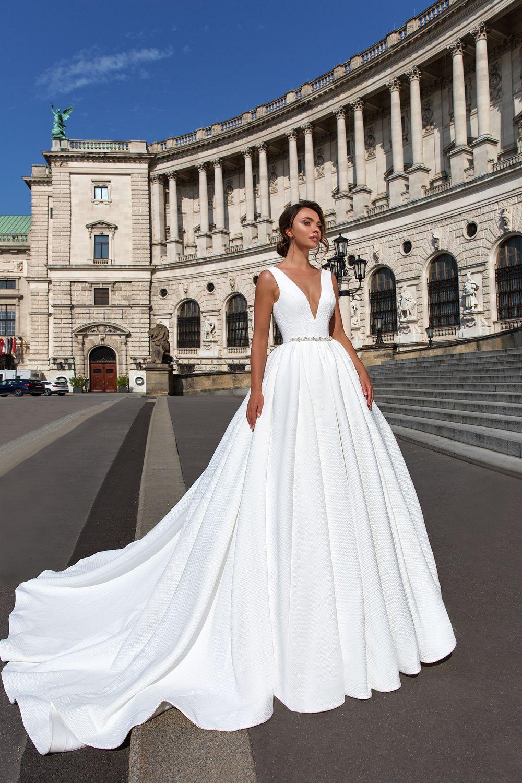 e1a7331eccc9 Ivanna Princeznovské Svadobné Šaty