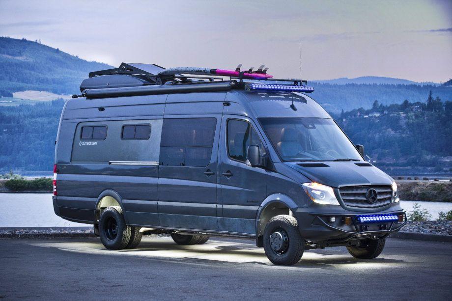 Off Grid Van From Outside Van Is The Ultimate Swiss Army Vehicle
