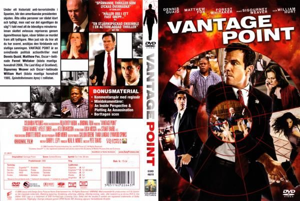 Coversboxsk Vantage Point 2008 High Quality Dvd Blueray