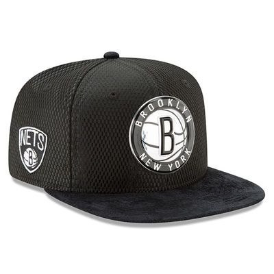 Youth Brooklyn Nets New Era Black 2017 NBA Draft Official On Court  Collection 9FIFTY Snapback Hat