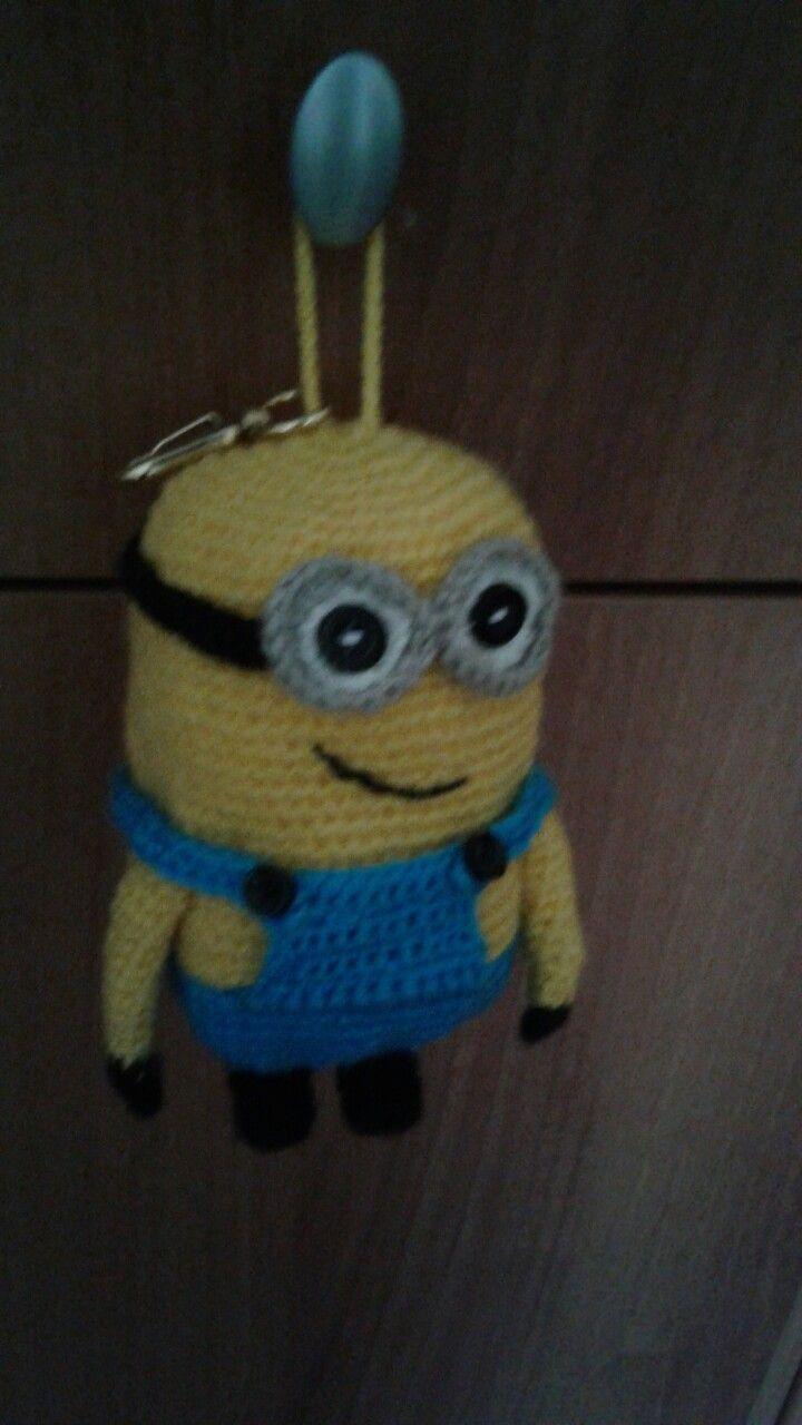 minions ❤ | plastic bag crochet Hug Me Mug Cozy - amigurumi pattern ...