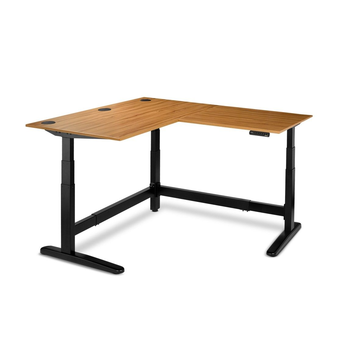 Jarvis3 L Shaped Standing Desk Greenguard Laminate Fully Fully