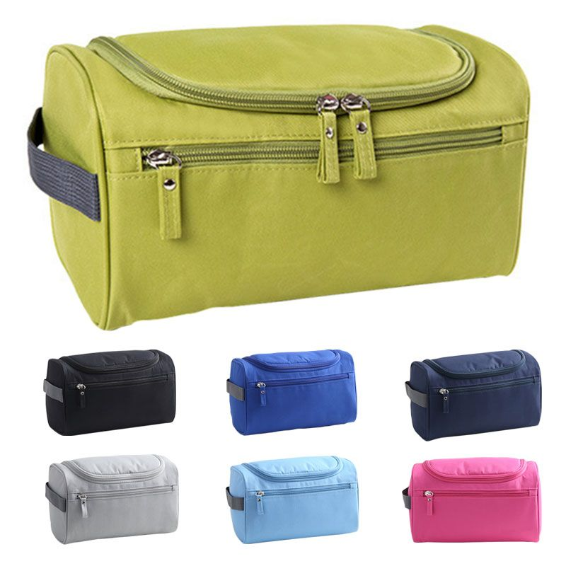 a832ee69fd14 Waterproof Men Hanging Makeup Bag Nylon Travel Organizer Cosmetic Bag for  Women Large Necessaries Make Up Case Wash Toiletry Bag     This is an  AliExpress ...