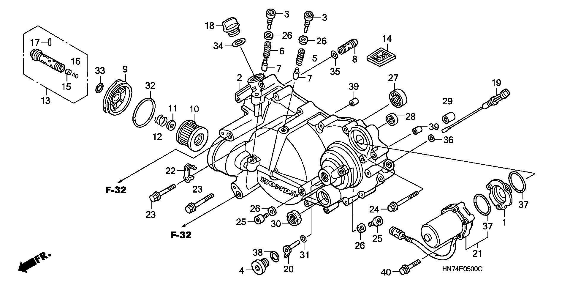 [DIAGRAM] 400ex Engine Diagram
