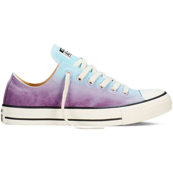 9af7442e6e0f Converse Chuck Taylor All Star Sunset Wash – motel pool Sneakers ( 60) ❤  liked on Polyvore featuring shoes