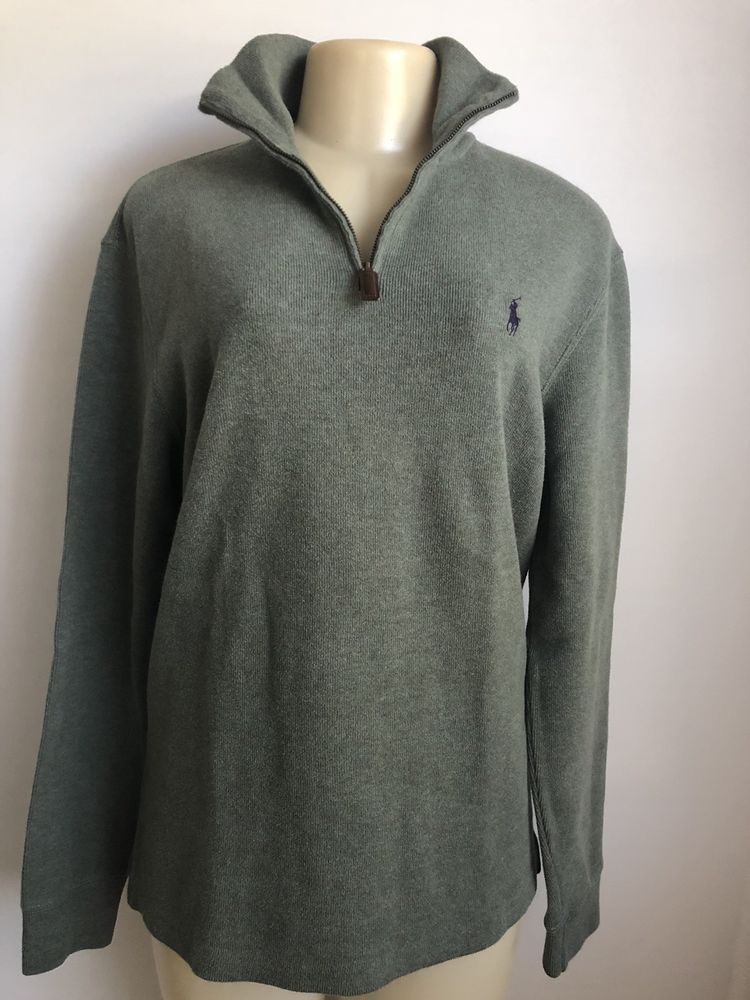 Polo Ralph Lauren Women s 100% Cotton OliveGreen 1 4 zip Pullover Sweater  Sz S  fashion  clothing  shoes  accessories  womensclothing  sweaters (ebay  link) b7a92d896