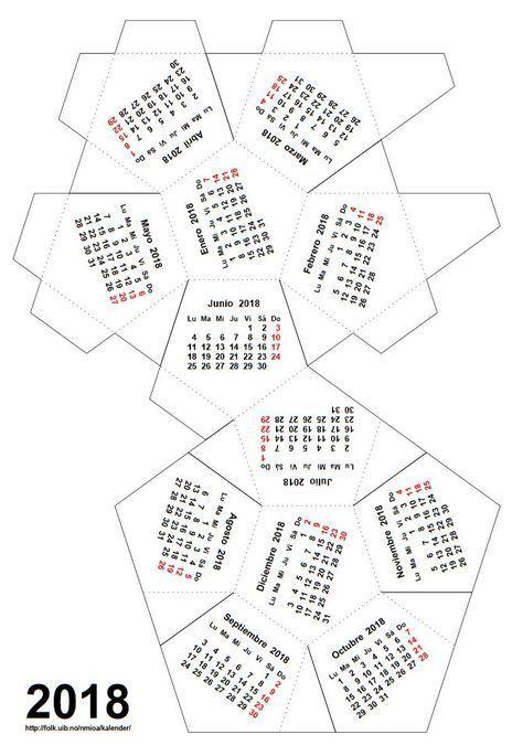 Un Calendario Dodecadrico Para 2018