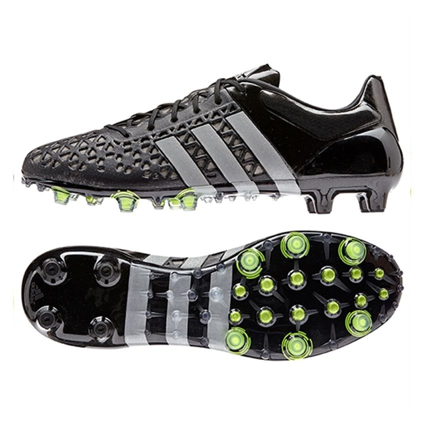 Great new Adidas ACE 15.1 FG AG soccer cleats with reflective strips.  Control the a7c926eb1