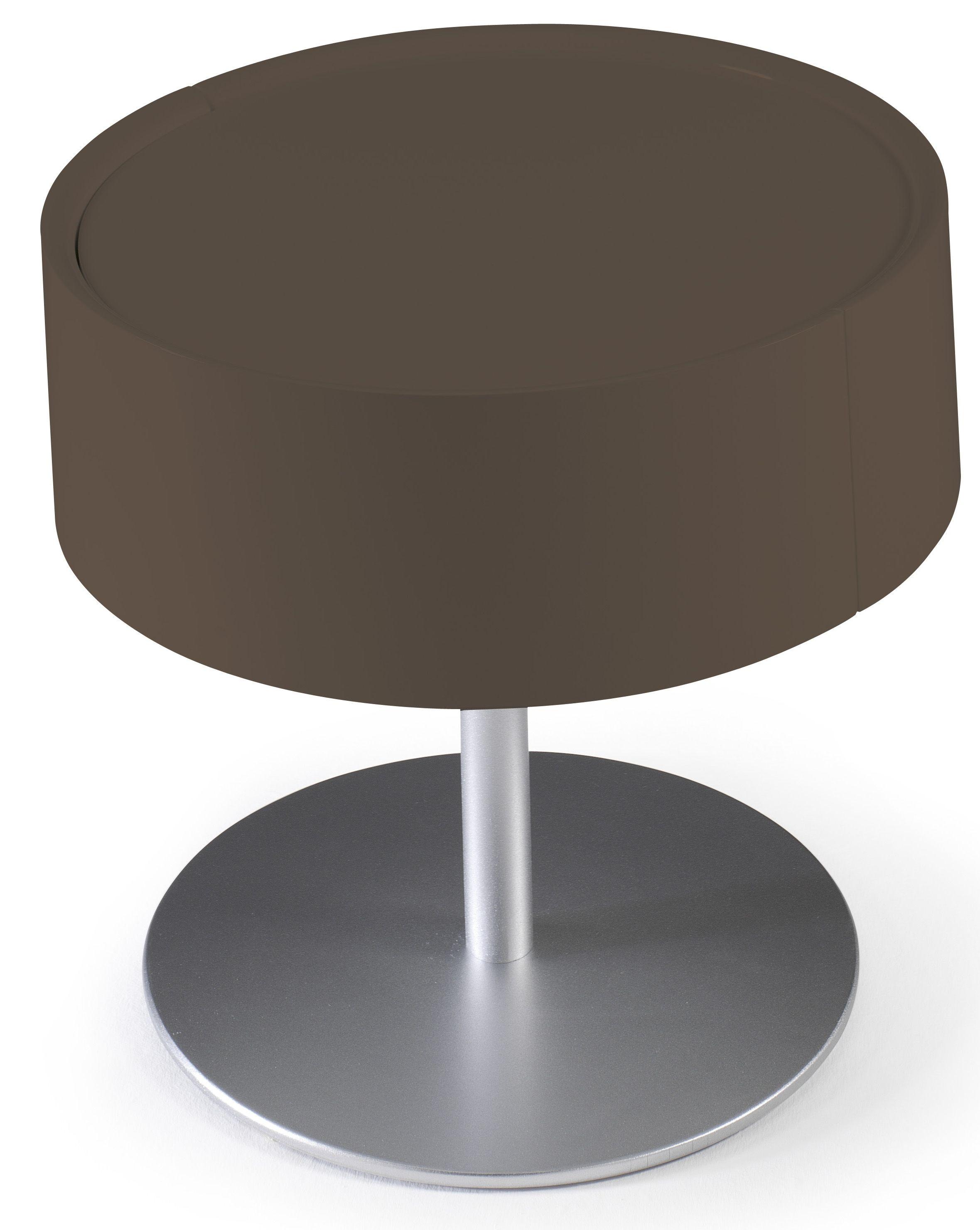 Designer Table De Chevet Design Marron Laque Torsada Lestendances Fr En 2020 Table De Chevet Design Table De Chevet Chevet Design