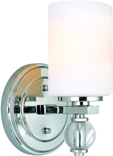 Troy Lighting B Bentley Light Bathroom Wall Sconce - Chrome bathroom sconce lights