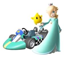 Rosalina S Profile Artwork For Mario Kart Wii Mario Kart Mario
