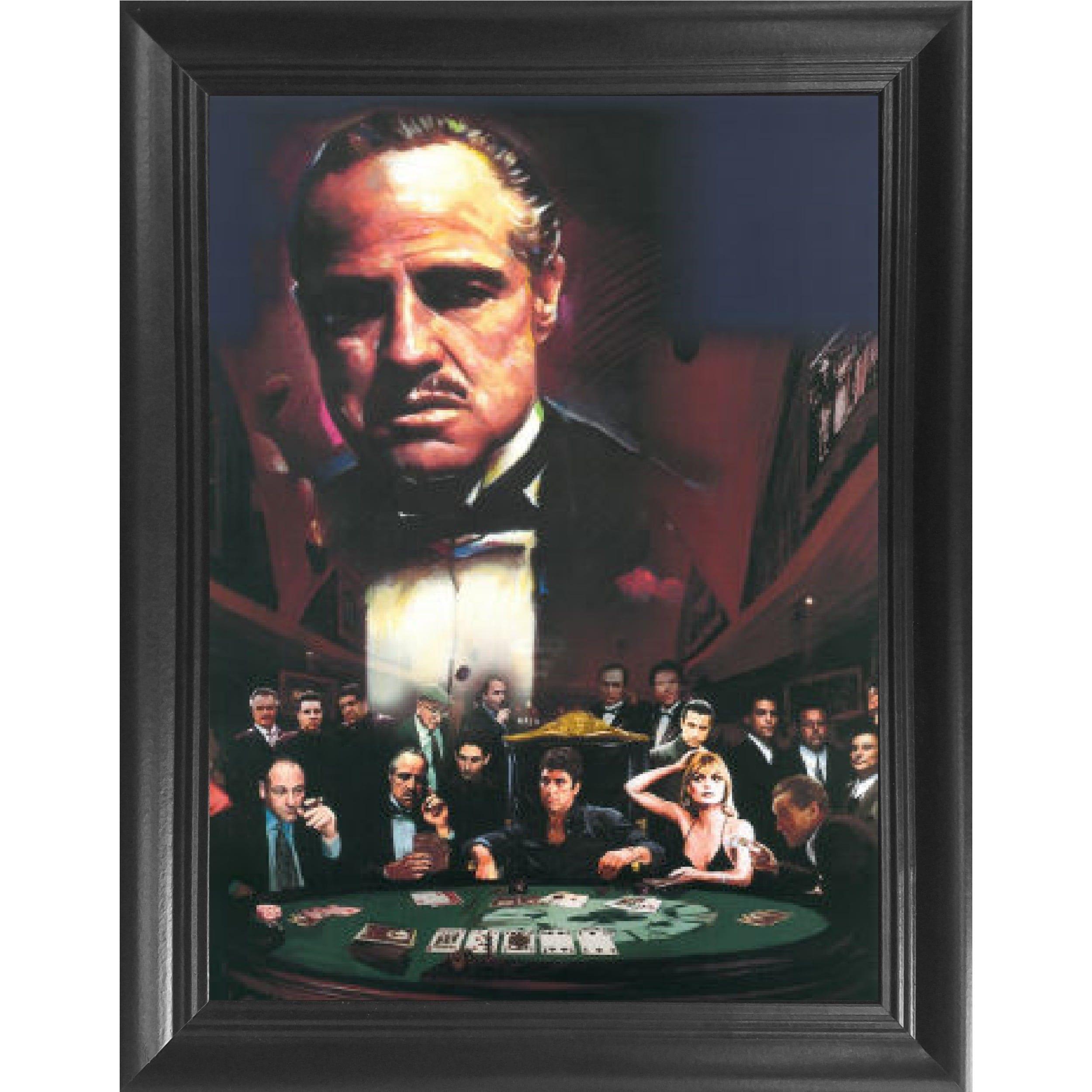 Goodfellas Movie Poster Print Wall Art Gift Frame Present