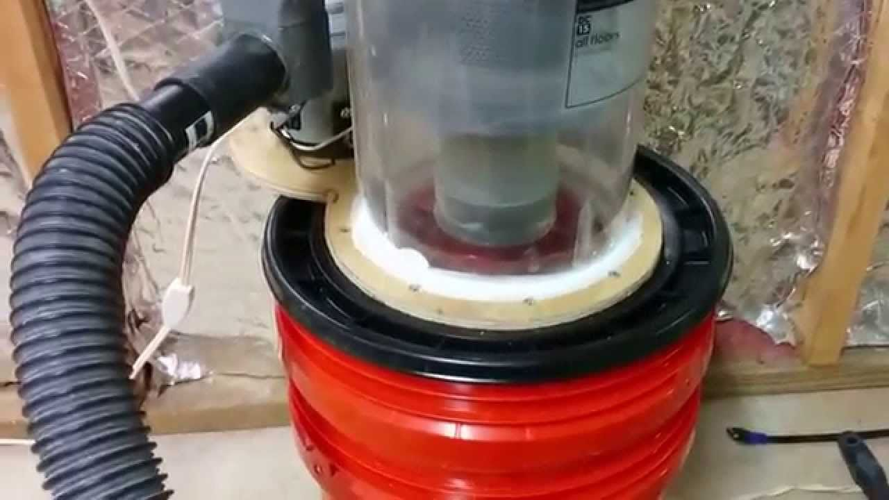 Shop Vac Dust Collector Made From Dyson Youtube Dust Collector Dust Collection System Shop Vac