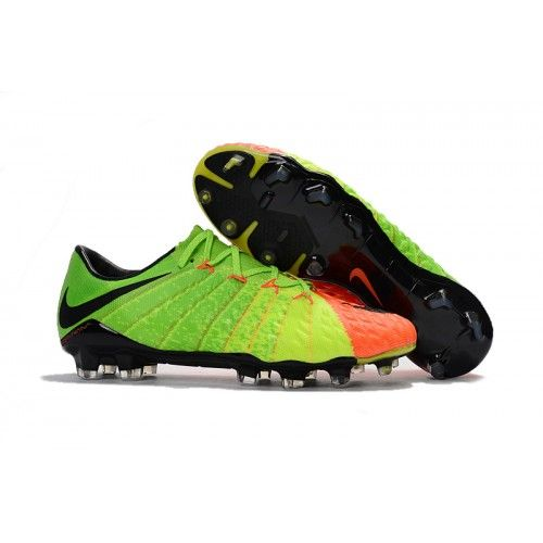 Jeftinije Nike Kopake Hypervenom Phantom III FG Green Orange Black Kopake