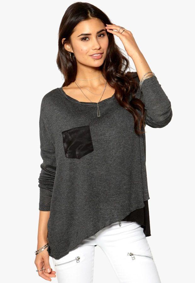 Casual Asymmetrical Sweater