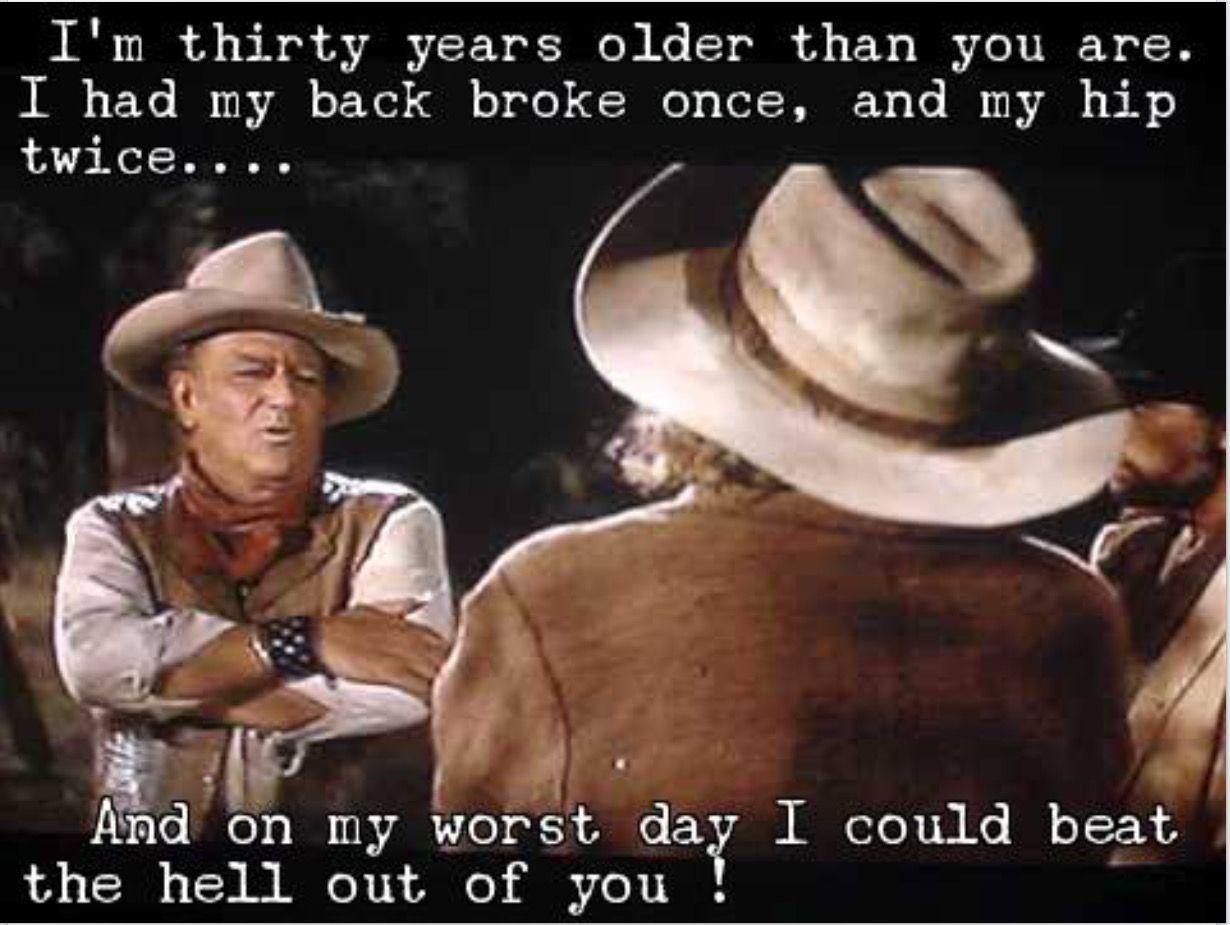 The Cowboys (With images) John wayne quotes, John wayne