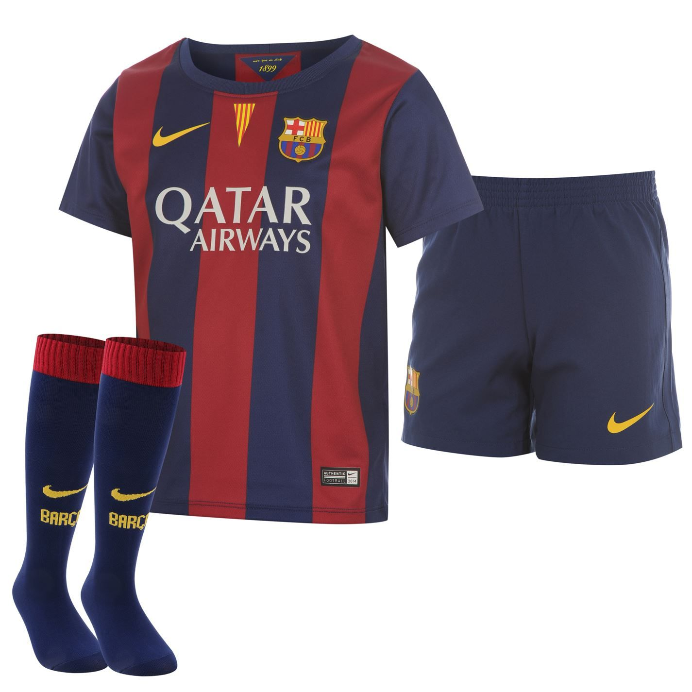 Nike | Nike FC Barcelona Home Kit 2014 2015 Mini | La Liga Football Shirts