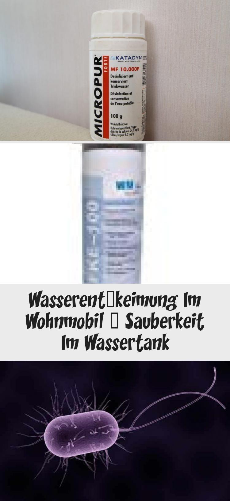 Mit dem Thema Wasserentkeimung im Wohnmobil oder Wohnwagen und dem