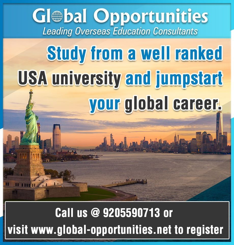 Study from a well ranked USA university