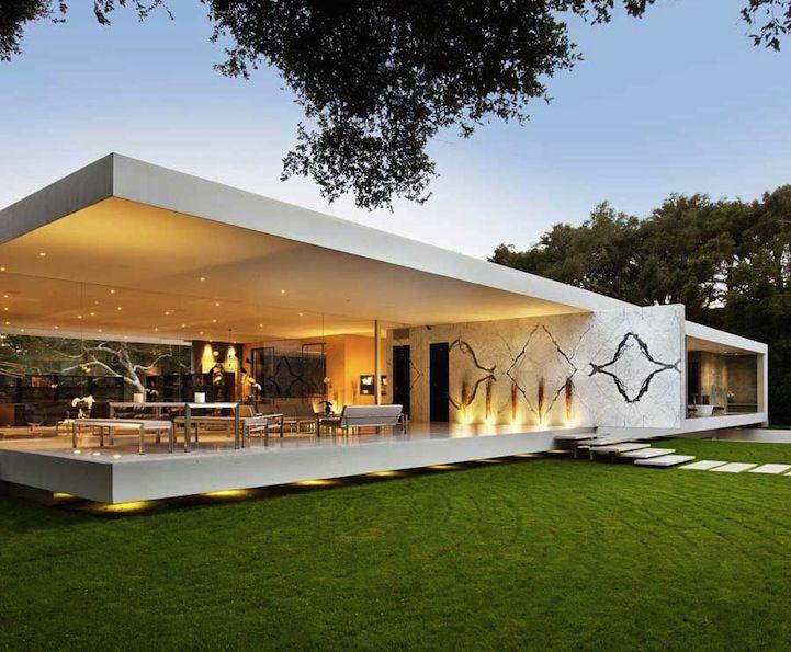 Santa Barbara S Glass Pavilion Casas De Hormigon Casas