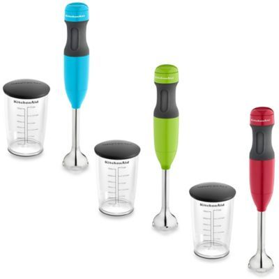 KitchenAid® 2 Speed Hand Blender with 3 Cup Jar & Lid