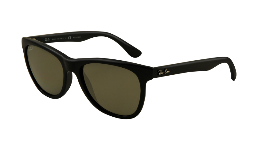 Update! Ray-Ban ® has restructured our iconic Wayfarer ®, and the result is the all-new RB4184 sunglasses. with a slightly larger rectangular shape, a variety of frame colors, and crystal lenses. The RB4184 is prescription-friendly and includes a raised metallic Ray-Ban ® signature logo on the temples.