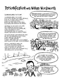 william wordsworth explains personification poetry comics  william wordsworth explains personification poetry comics