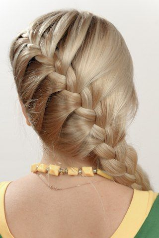 Surprising 1000 Images About Braids Amp Ponies On Pinterest Hairstyles For Short Hairstyles Gunalazisus