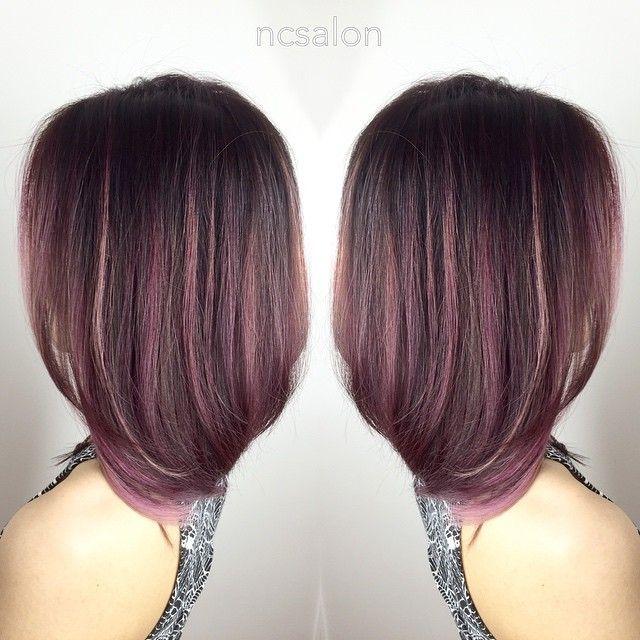 Gold Highlights For Brown Hair Photo 1 Dark Hair With Highlights Hair Rose Gold Hair Brunette