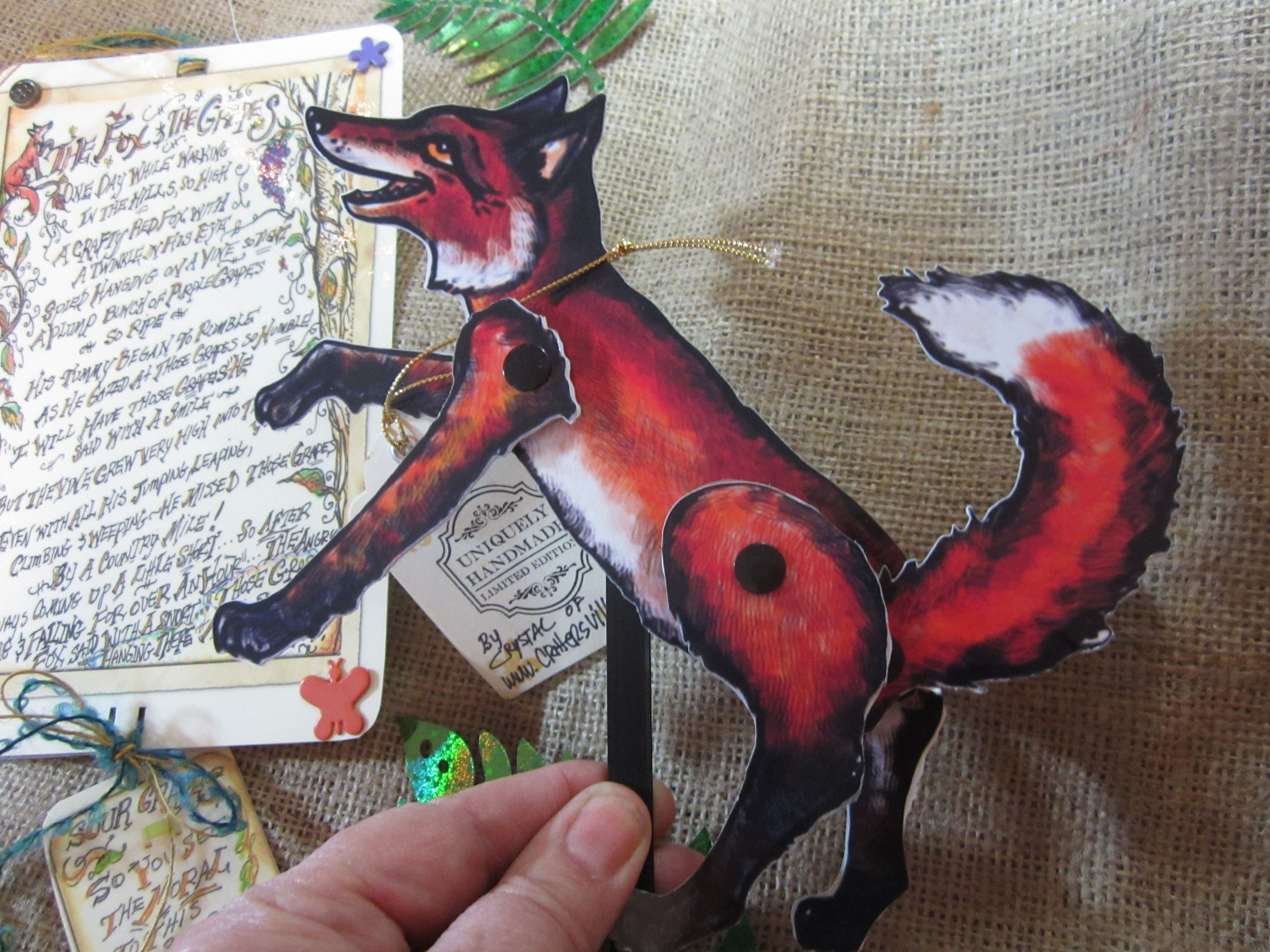 the fox and the grapes poem