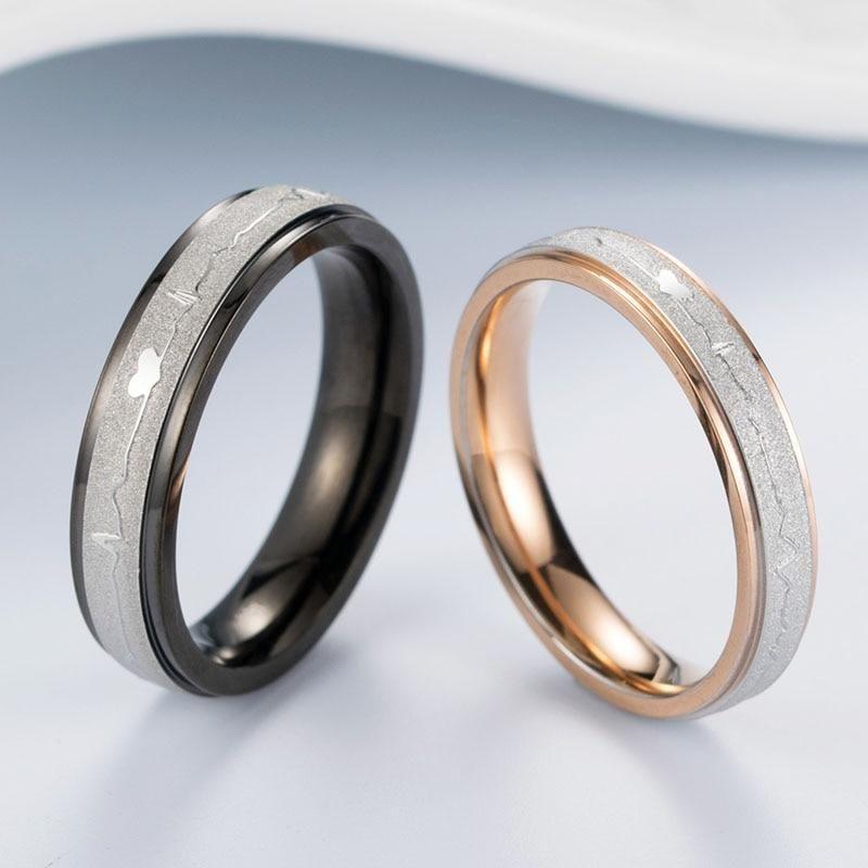b8dffafea4 Heart Beat Matching Couples Ring #bracelets #couple #couplegoals #couples  #coupleshirts #