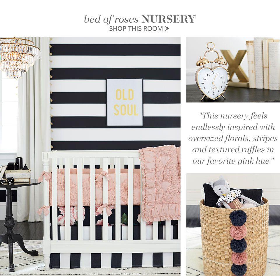 Emily & Meritt Bed Of Roses Nursery Baby Fever! in 2019