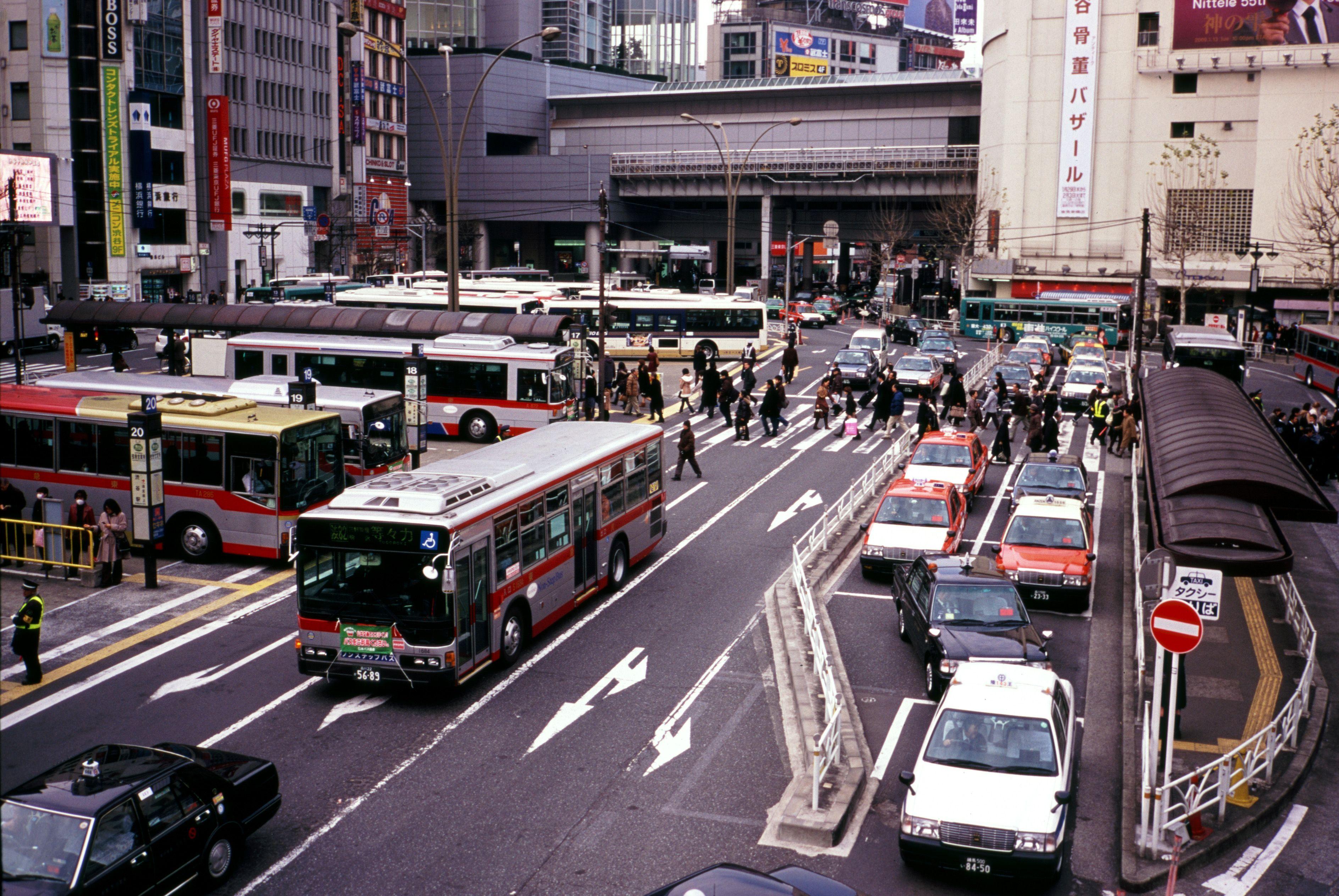 Backside of Shibuya by mynameisrage via Flickr #Shibuya