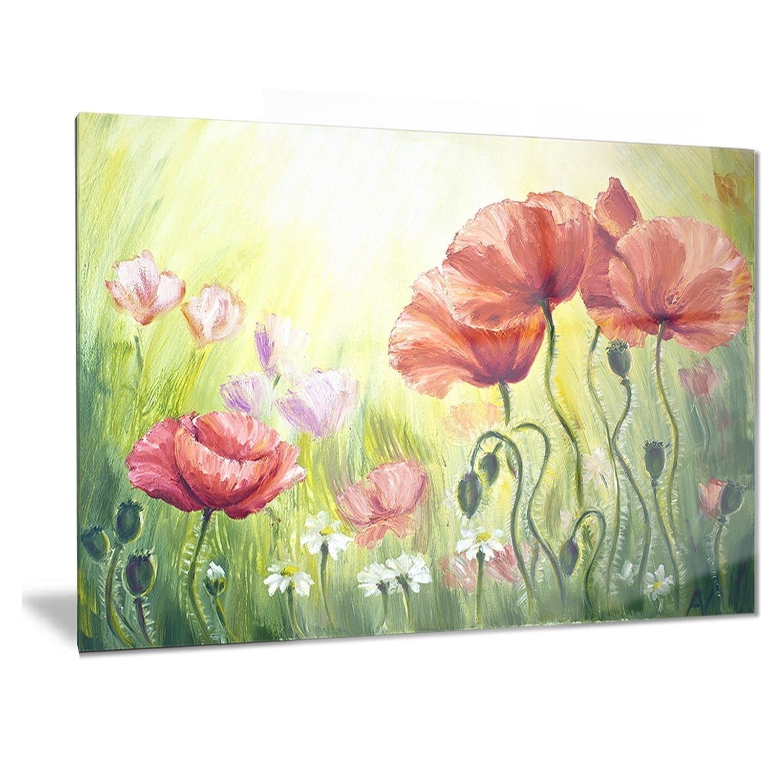 Awesome Fetco Rex Floral Wall Decor Inspiration - Wall Painting ...