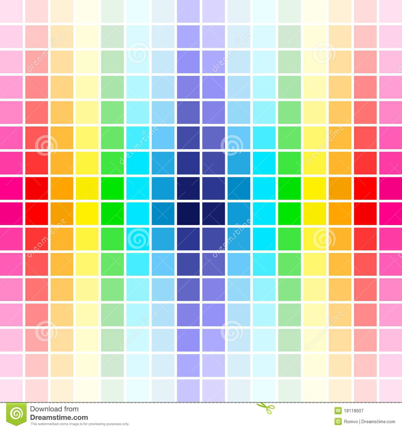 Colores del arco iris de la gama de colores descarga de for Gama colores pintura