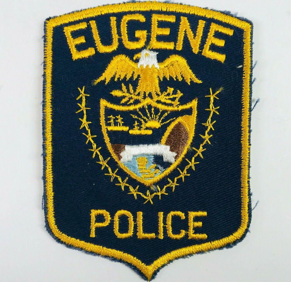 Eugene police oregon vintage patch in 2020 vintage