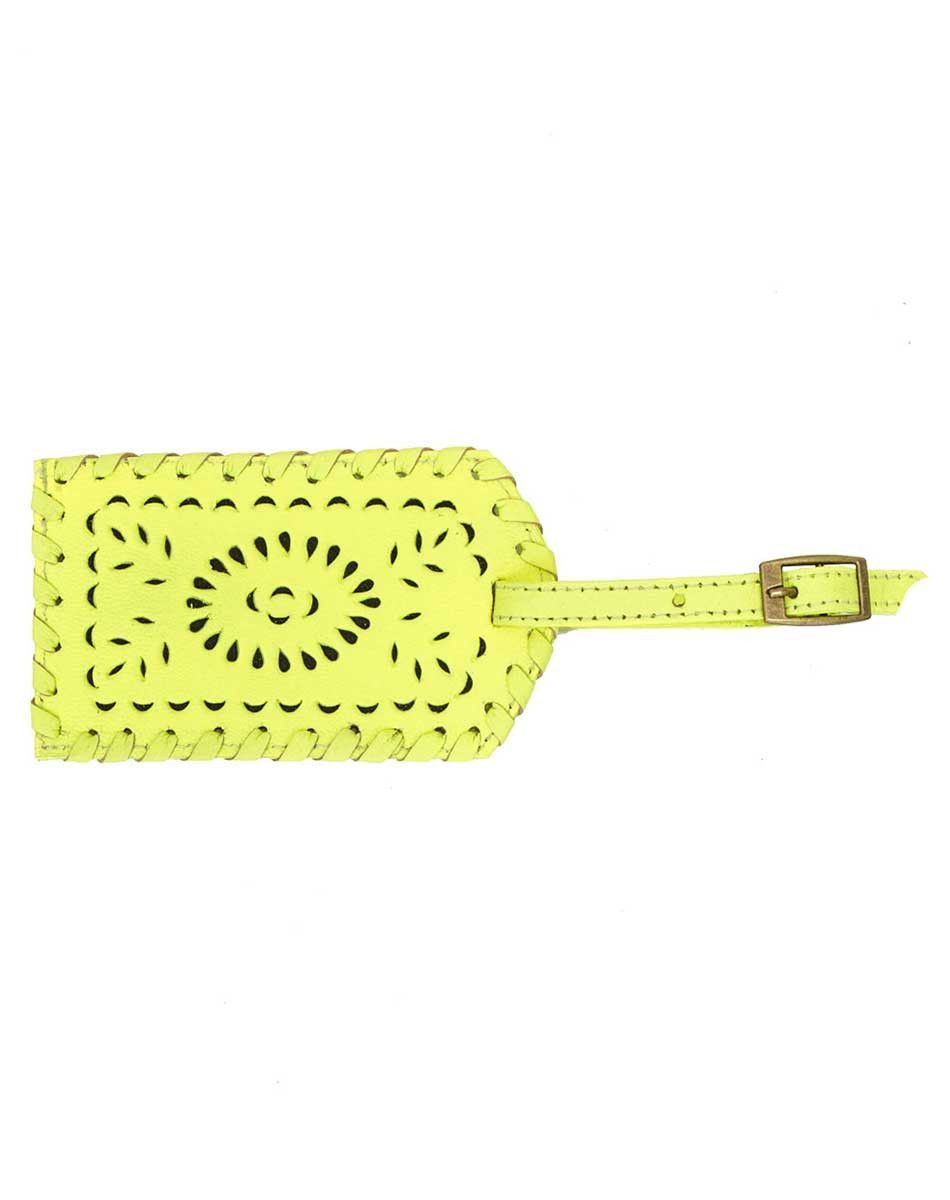 MEXICANA PAINTED LUGGAGE TAG