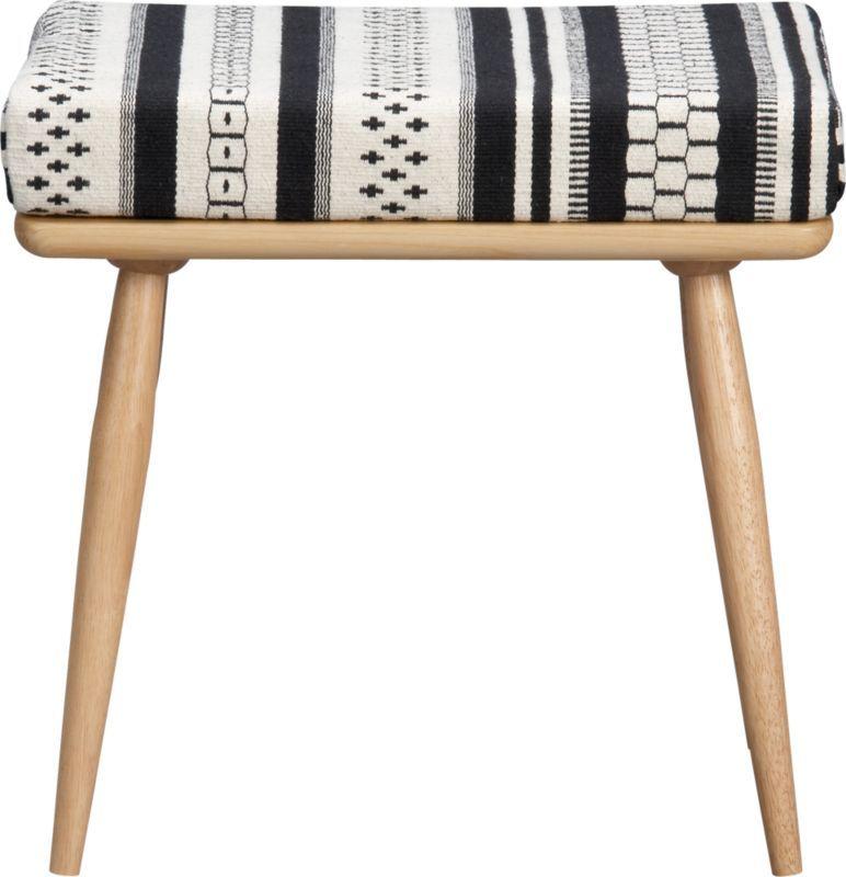 varanasi stool in ottomans, benches   CB2   stools   Pinterest ...