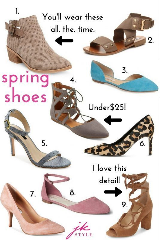 439c32697ed Nothing says warmer weather like spring shoe shopping! Best of all