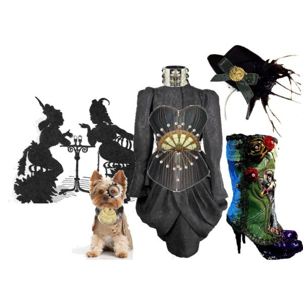 Steampunk,created by muffinsangria on Polyvore
