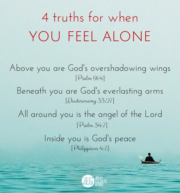 Quotes Feeling Sad And Alone: Inspiring Christian Wives