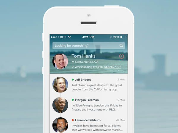 25 Gorgeous Examples Of Timeline In Mobile Apps UI Design - timeline examples